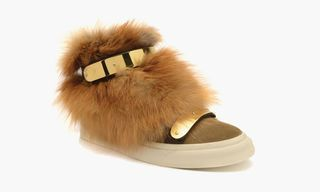 "Giuseppe Zanotti Fall/Winter 2014 ""Fur Vibes"" Pack"