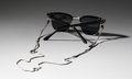 Silver & Silk Cord Eyeglass Lanyard Uses Italian and German Materials