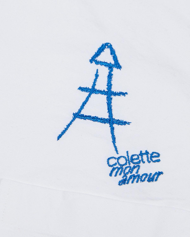 Colette Mon Amour x Thom Browne - White Eiffel Classic Shirt - Image 5