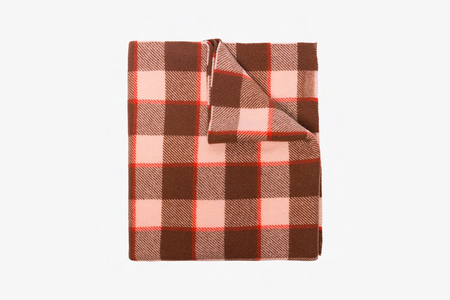Cassiar Check Wool Scarf