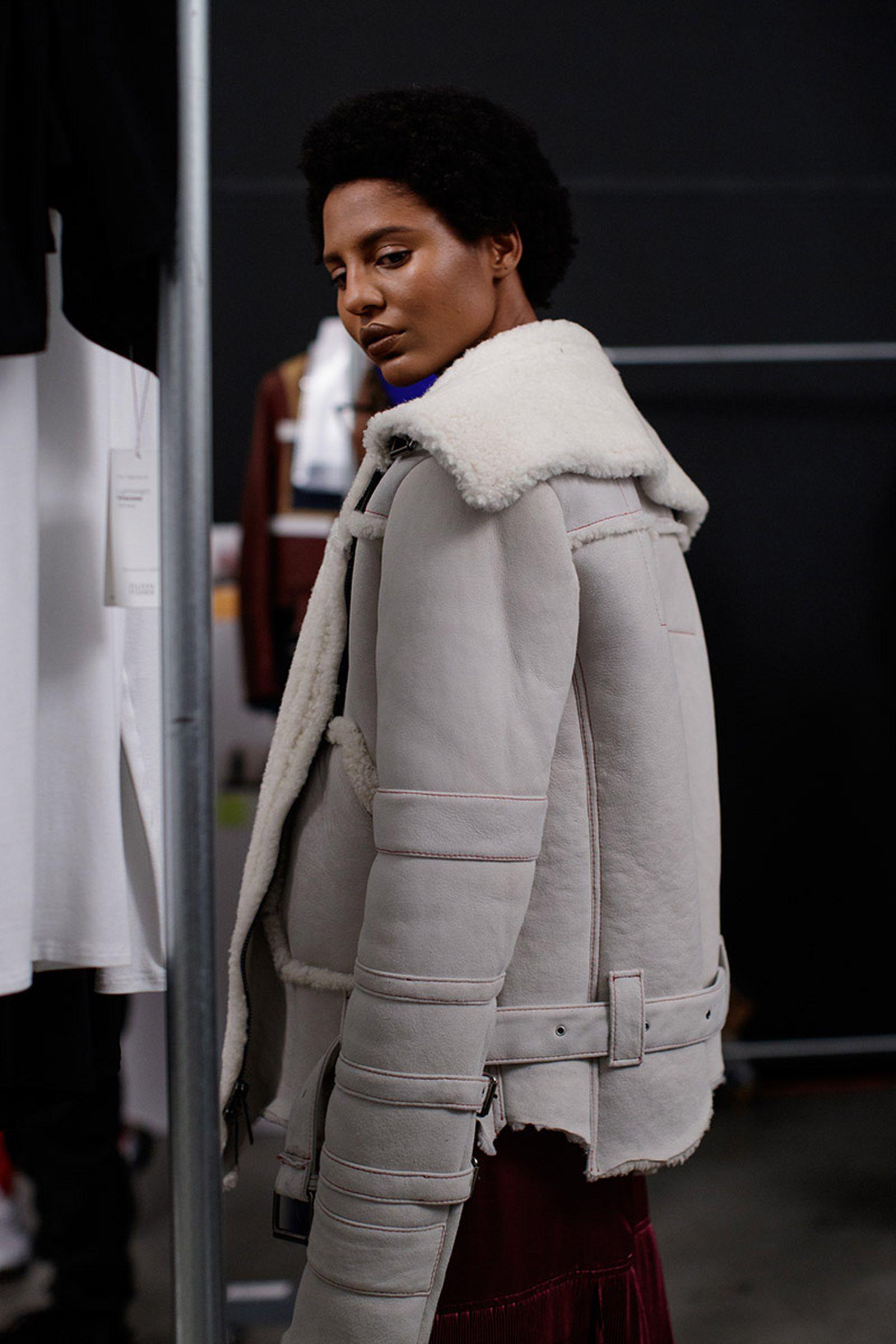 pyer moss fw18 fall winter 2018 new york fashion week nyfw