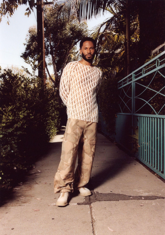 Shirt DIOR MEN Pants DION LEE Shoes CAMPER LAB Necklace DAVID YURMAN
