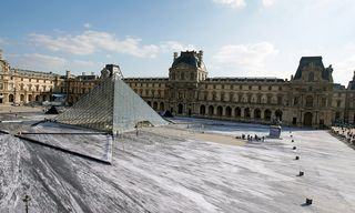 JR's Louvre Optical Illusion Artwork Was Destroyed in Just One Day