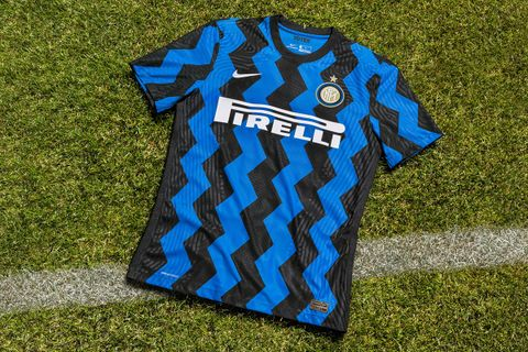 black and blue nike inter milan home jersey 2020/21