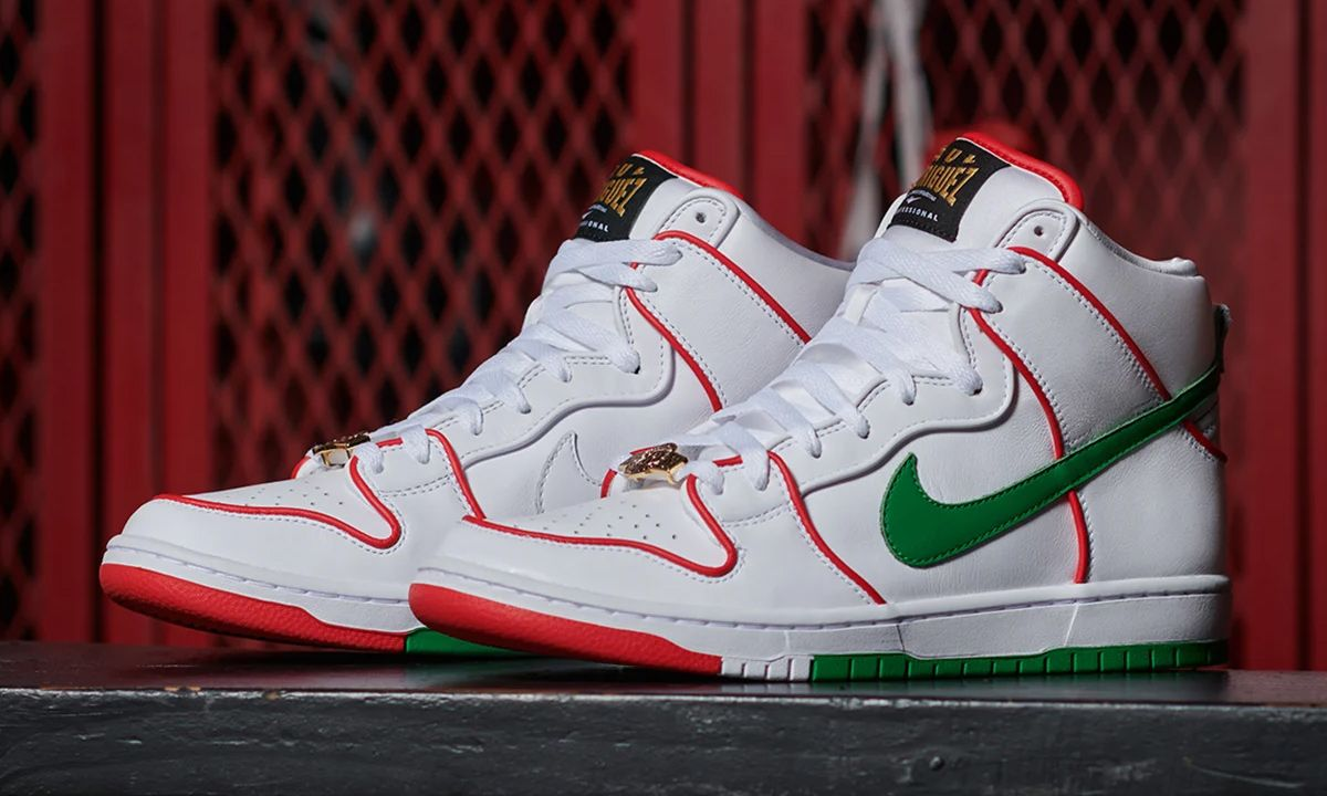 Boxing & Mexico Inspire Paul Rodriguez's SB Dunk High