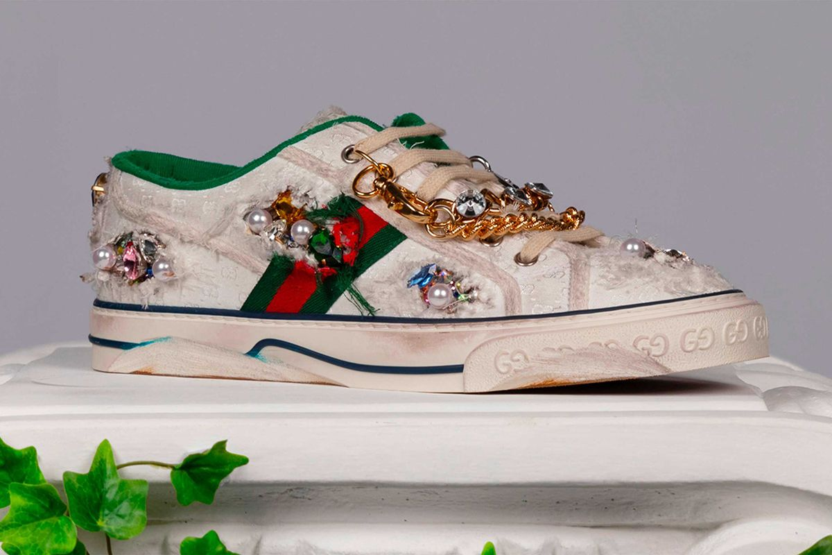 Alessandro Michele Designed Gucci's First Virtual Sneaker & Now You Can Too 27