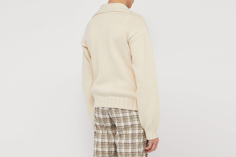Open-Neck Sweater