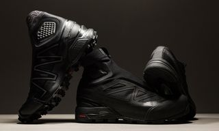 Salomon Drops a Second Round of Blacked-Out S/LAB Trail Sneakers