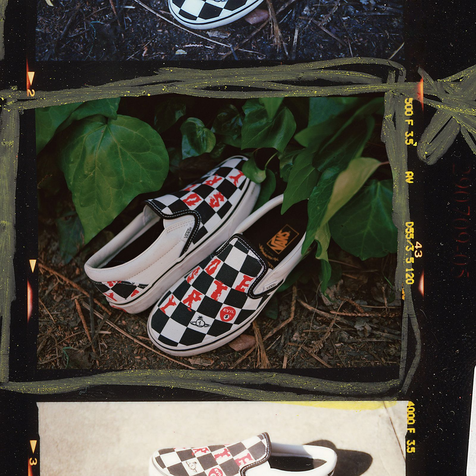 Vans Vivienne Westwood Anglomania collection Slip-On