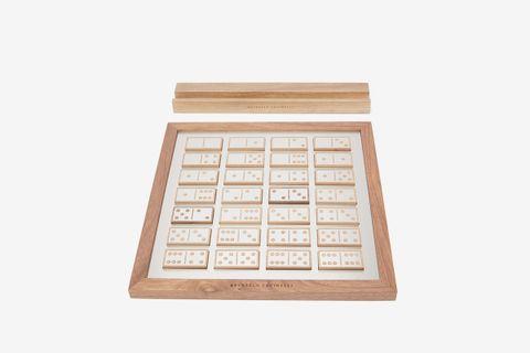 Walnut Domino Set