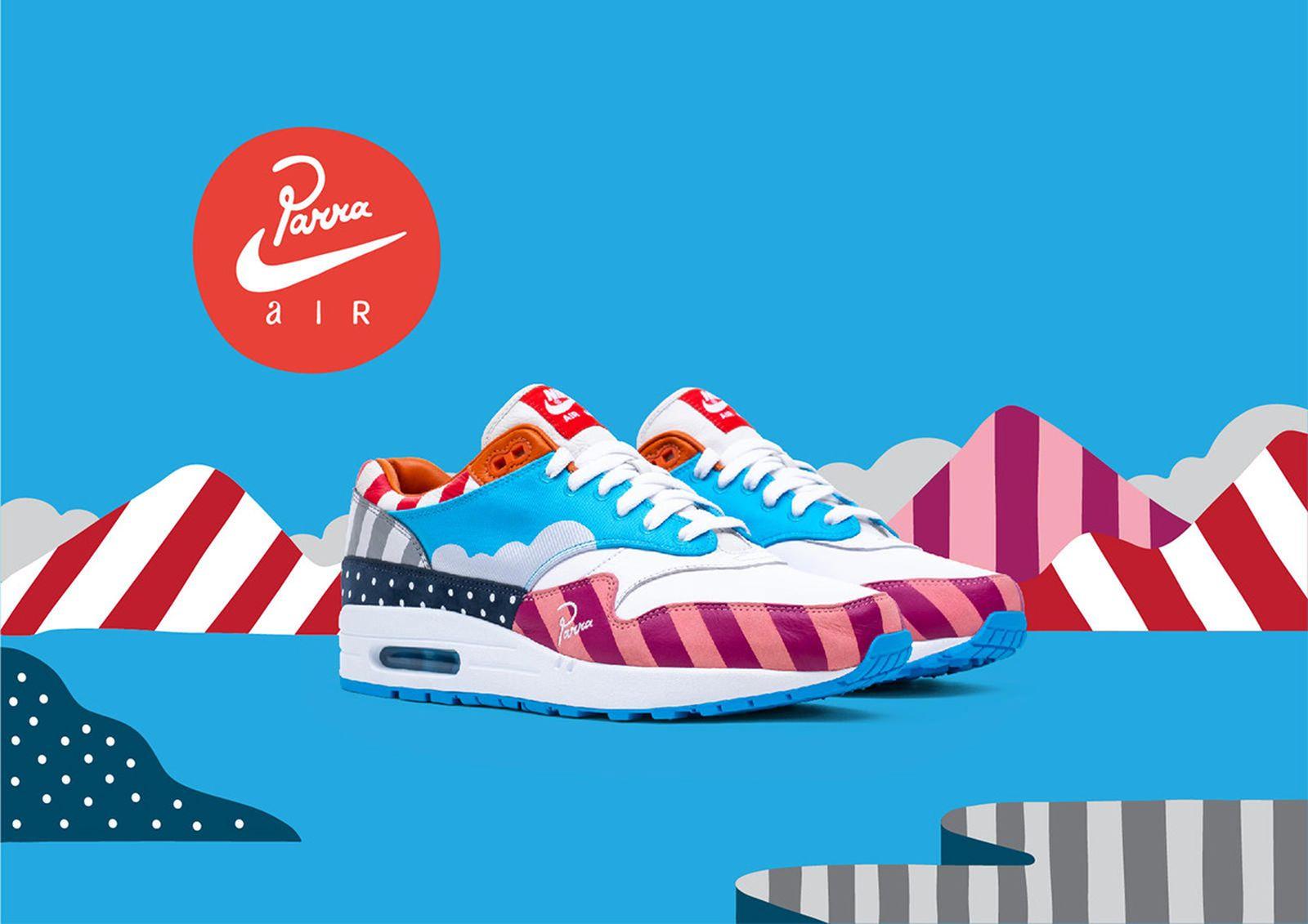 Parra Nike FF air max 1