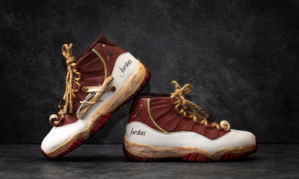"new concept 22a85 433ad California Winery Uncorks April Fool s Early With This Wild ""Cabernet  Sauvignon"" Air Jordan 11"