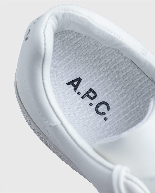 A.P.C. x Sacai — Minimal Sneaker White - Image 9