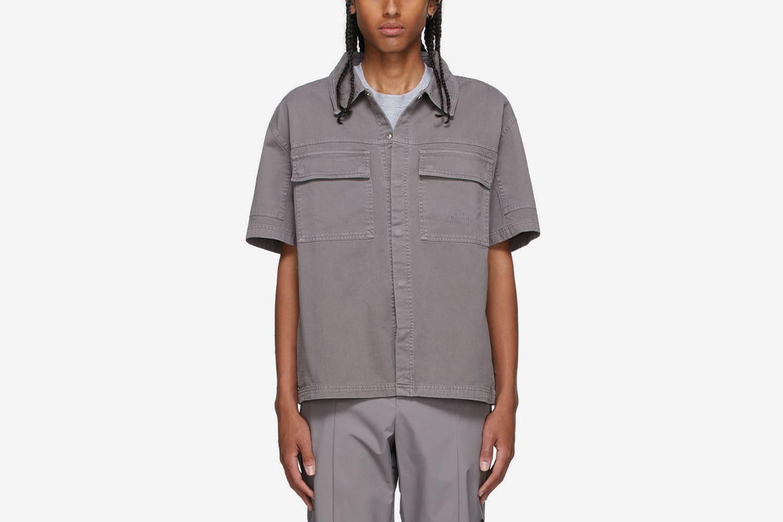 Short-Sleeved Overshirt