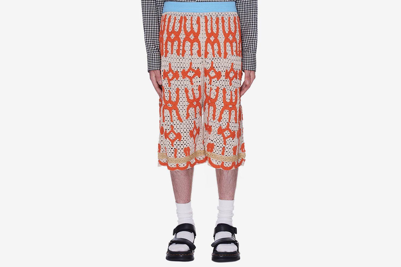 Knit-Shorts