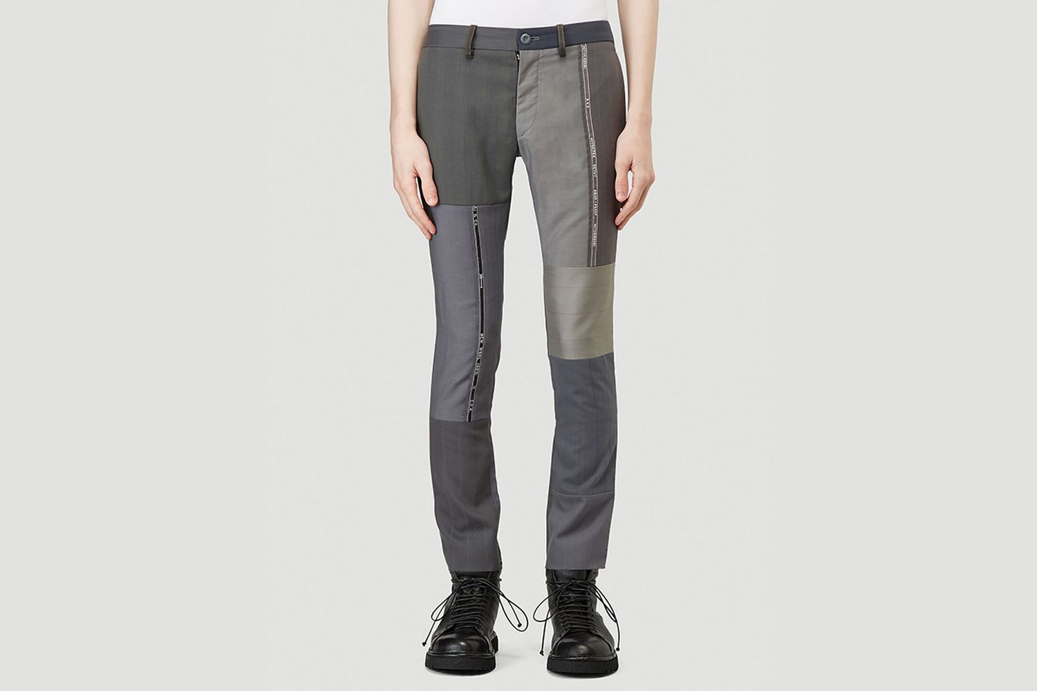 Tailored Patchwork Pants