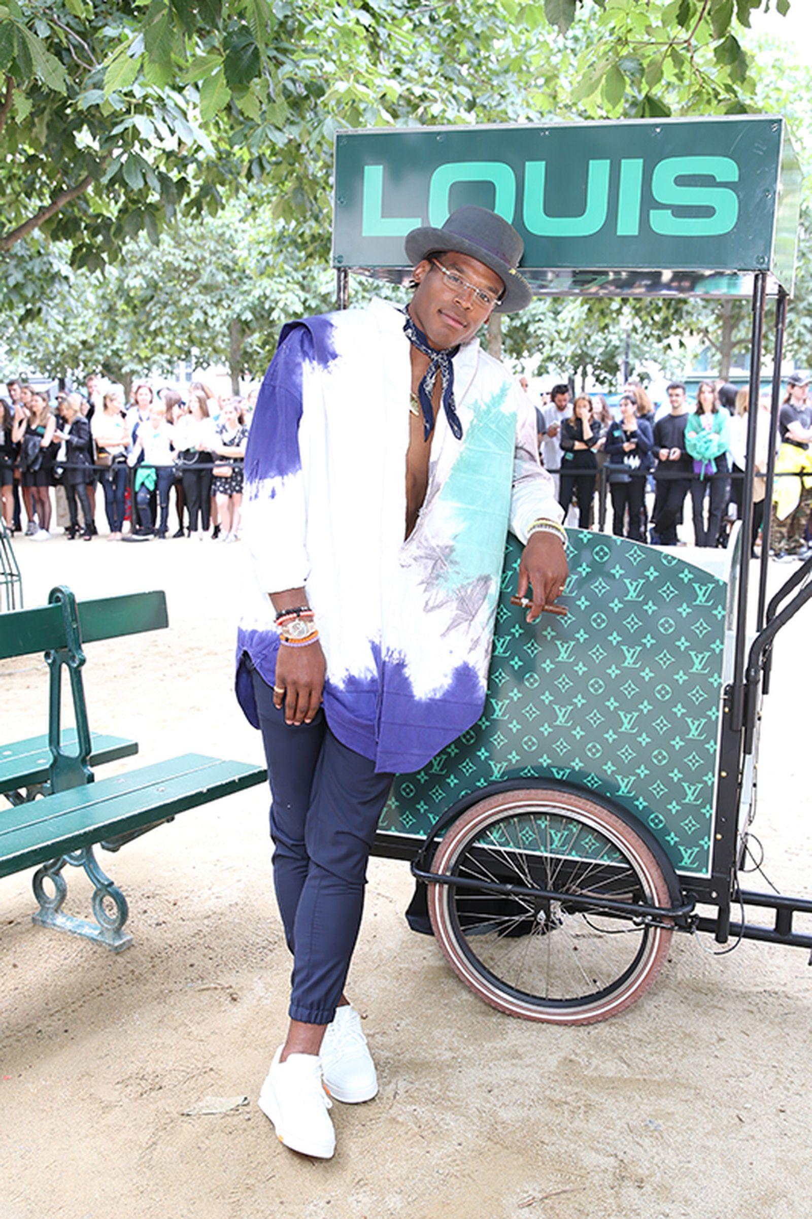 louis vuitton ss20 show celebrity roundup 1 paris fashion week virgil abloh