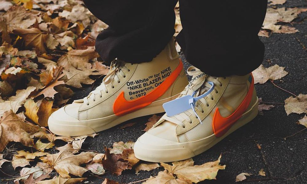 OFF-WHITE x Nike Blazer & More of the Best Instagram Sneakers
