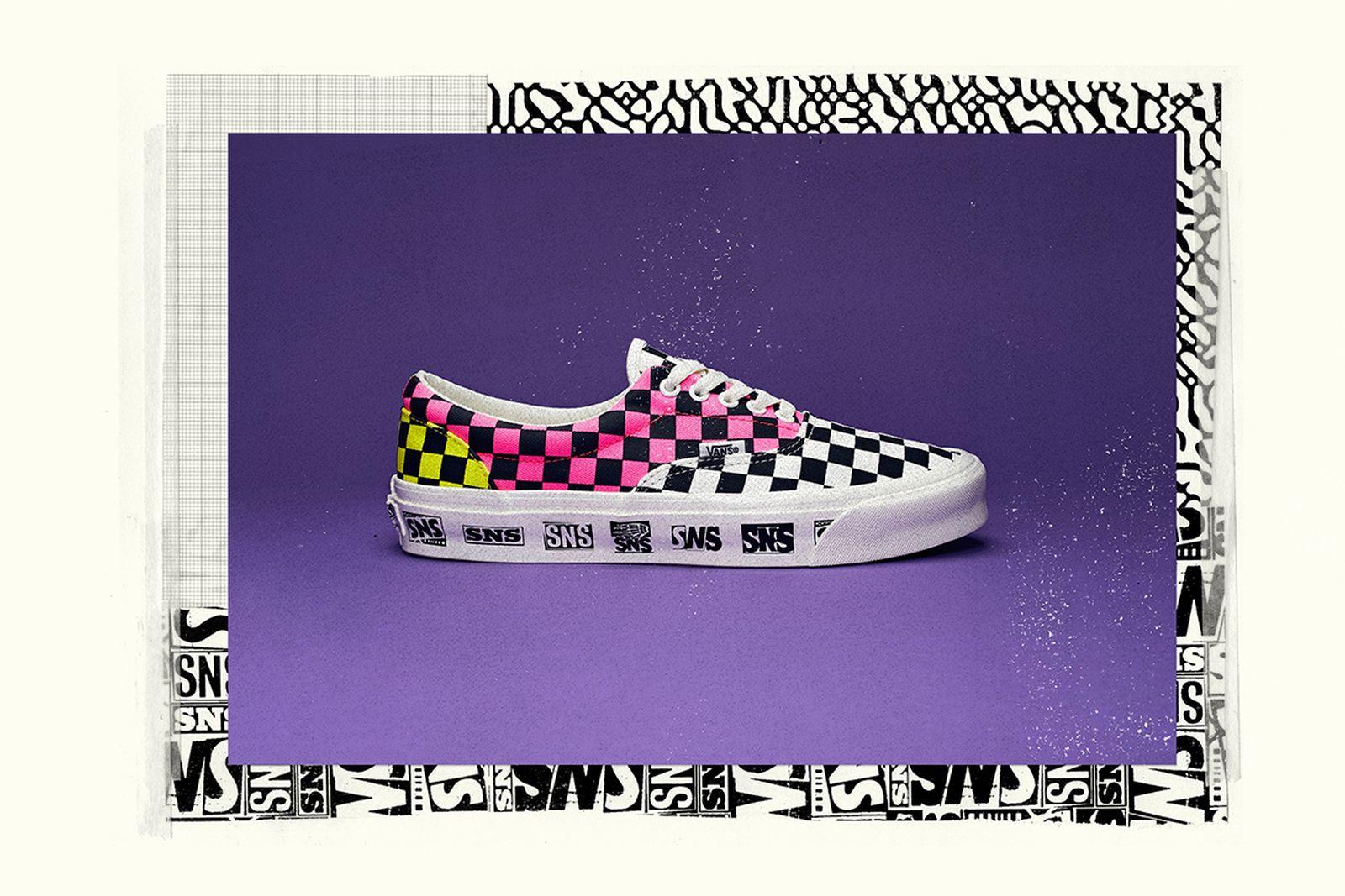 "Sneakersnstuff x Vans ""Venice beach"" pack"