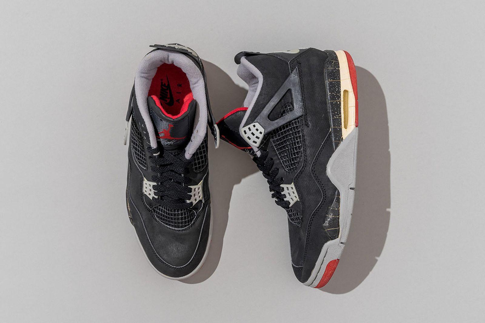 1989 Air Jordan 4 Black/Cement