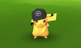 Rare Pikachu Wears fragment design Hat In New 'Pokemon Go' Update