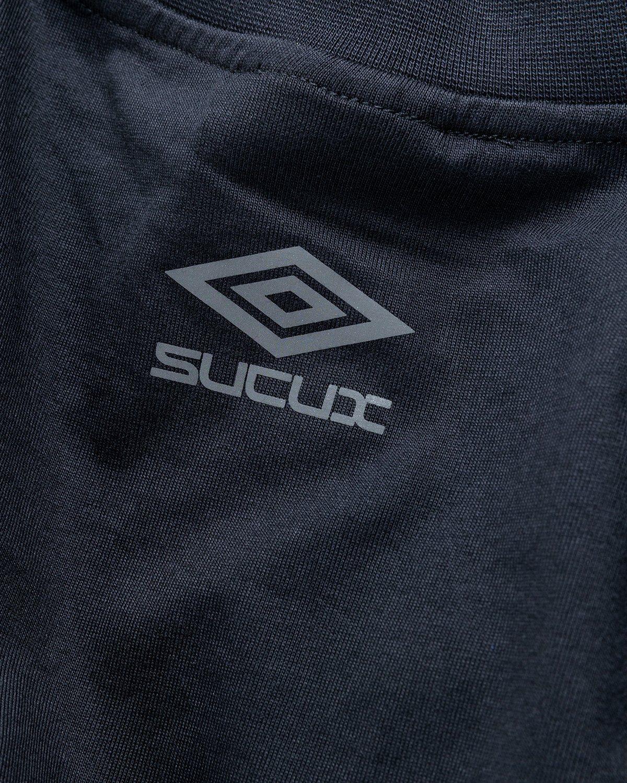 Umbro x Sucux – Oversize T-Shirt Black - Image 4