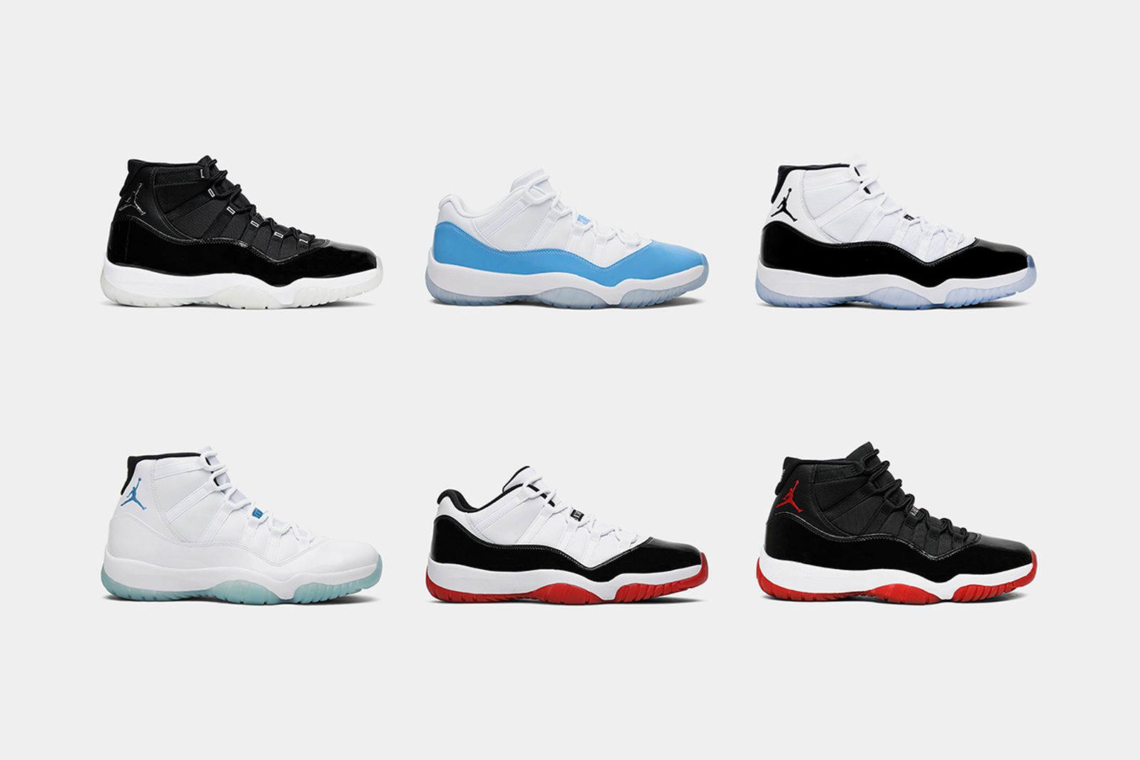 Air Jordan 11: The Best Colorways of the Iconic Silhouette
