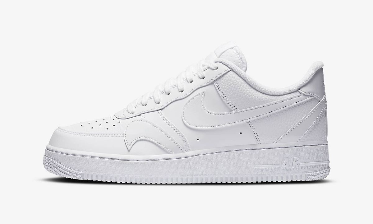 """Nike Air Force 1 Low """"Misplaced Swoosh"""": Images & Buy Here"""