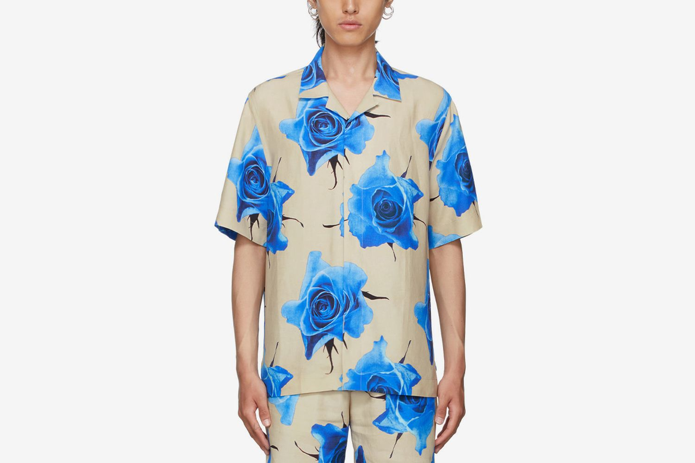 Monarch Rose Short Sleeve Shirt
