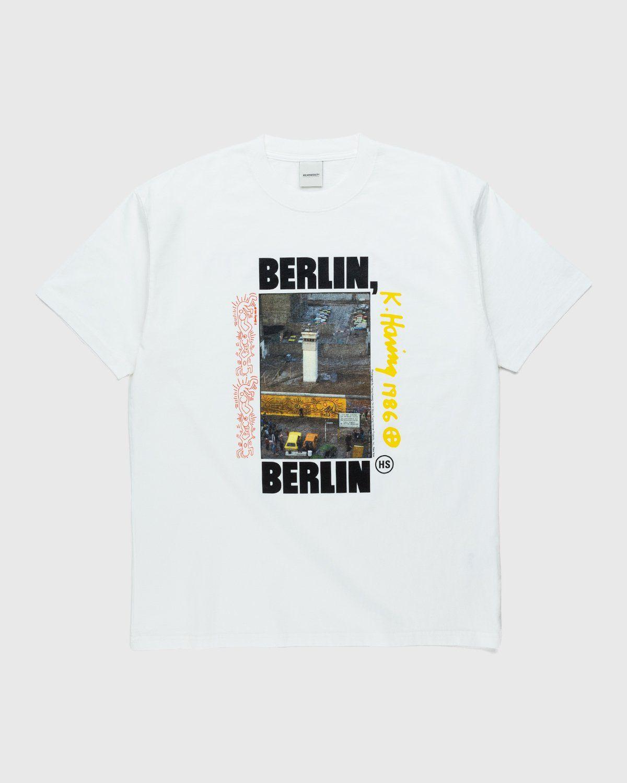 Highsnobiety x Keith Haring – Berlin T-Shirt White - Image 1