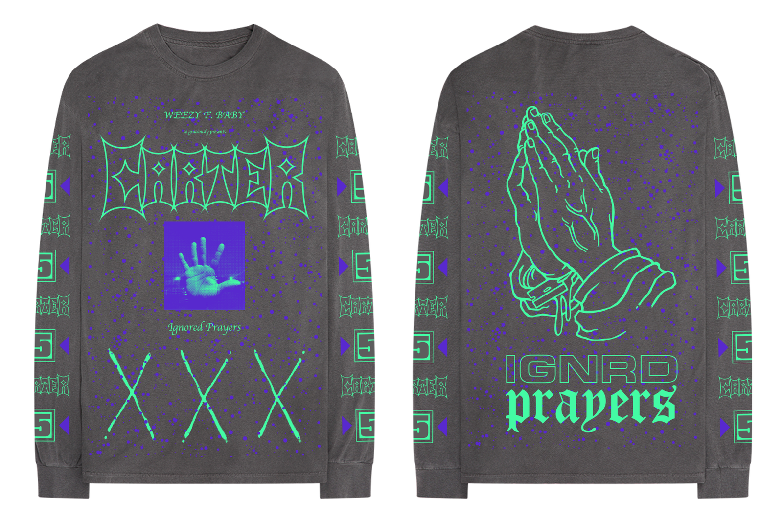 lil wayne carter v 5 merch ignored prayers Tha Carter V bravado
