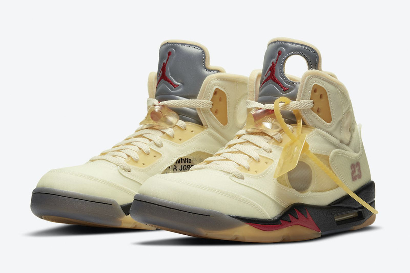 Off White X Air Jordan 5 Sail How Where To Buy Today