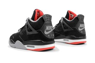 "cc2aa2e282ced6 1 more. Previous Next. Brand  Jordan Brand. Model  Air Jordan 4 ""Bred"" aka "" Black ..."