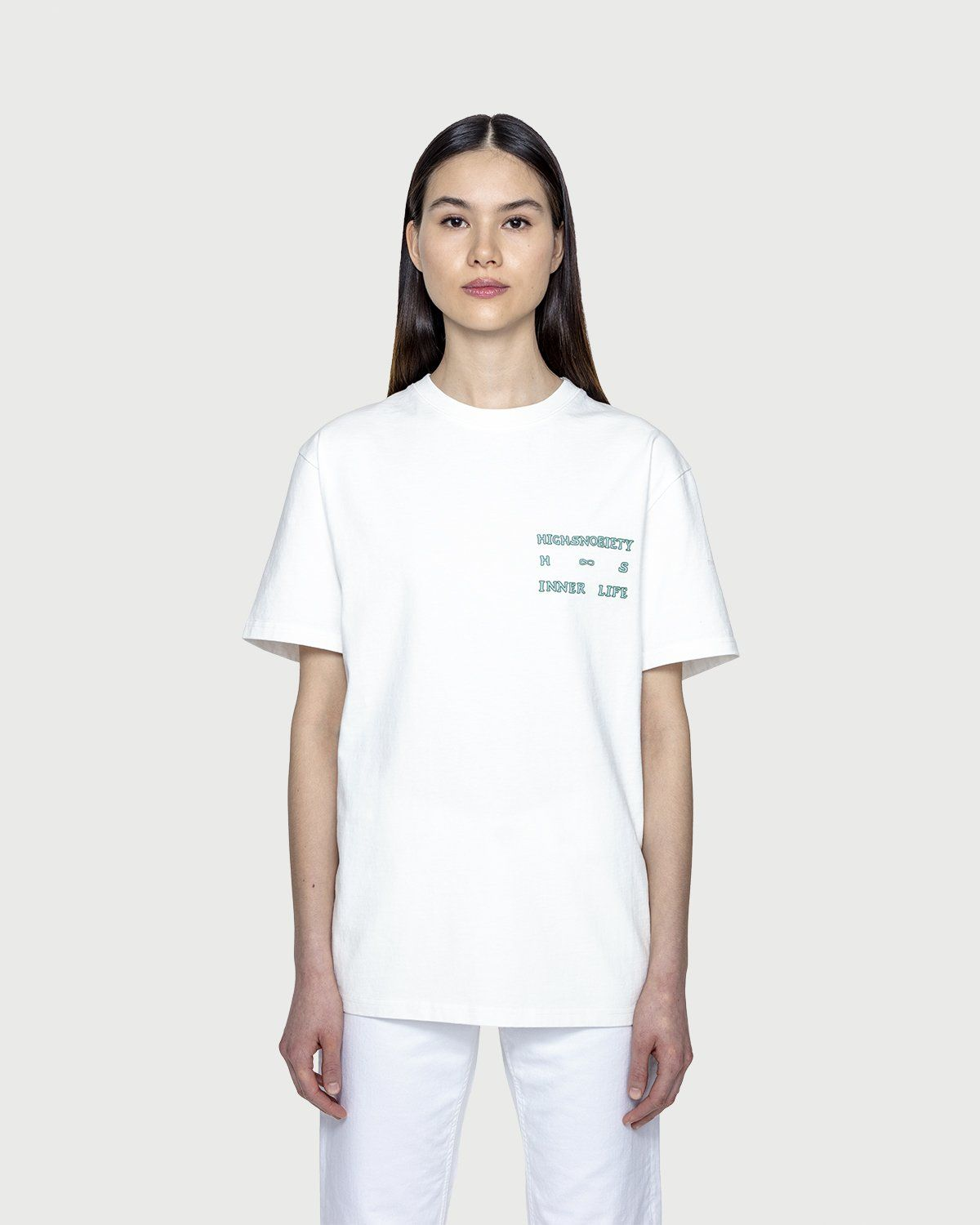 Inner Life by Highsnobiety - The End T-Shirt White - Image 3