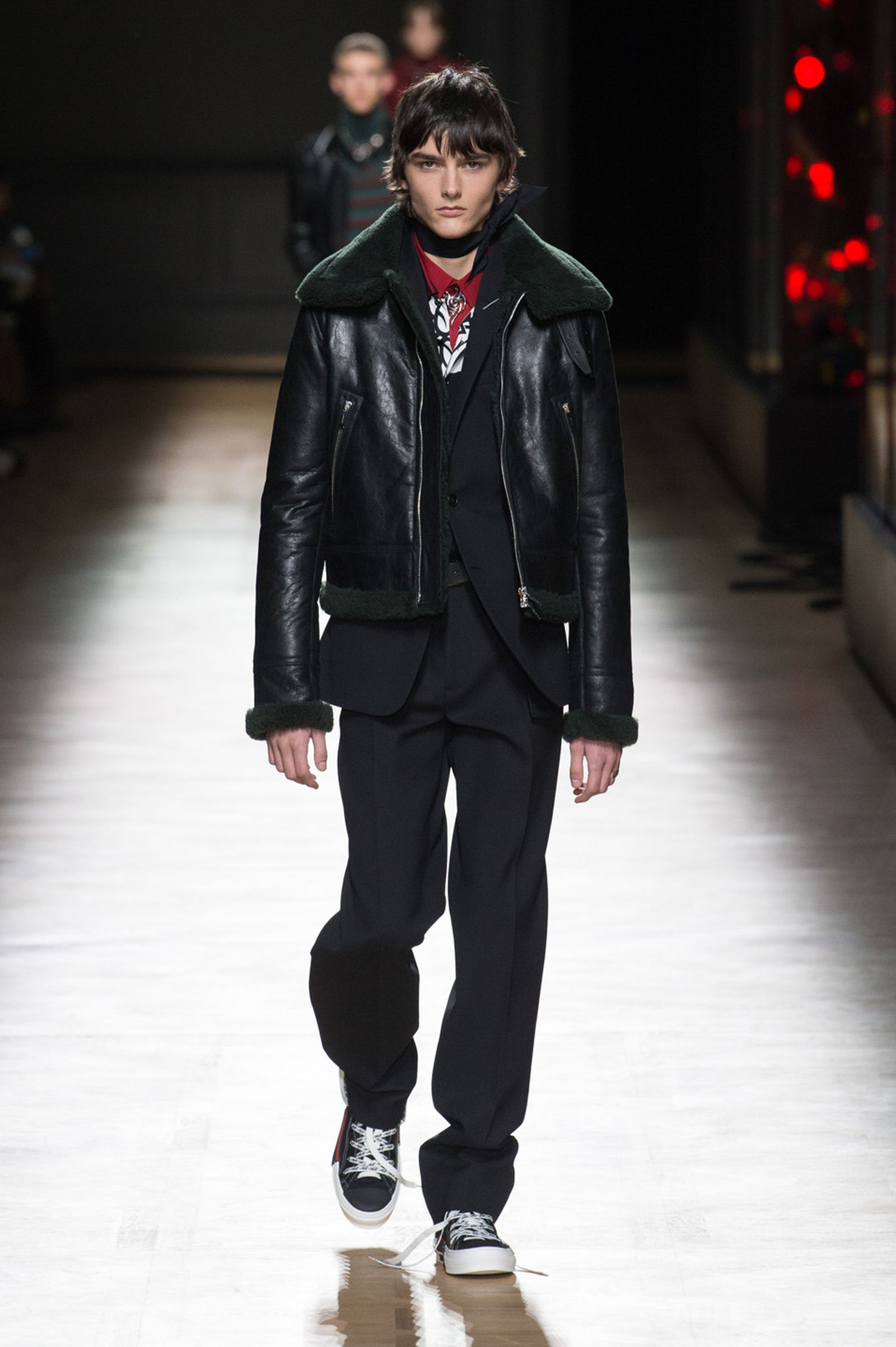DIOR HOMME WINTER 18 19 BY PATRICE STABLE look16 Fall/WInter 2018 runway