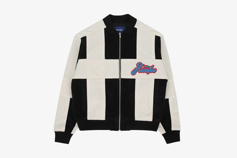 Chenille Patch Corduroy Logo Jacket