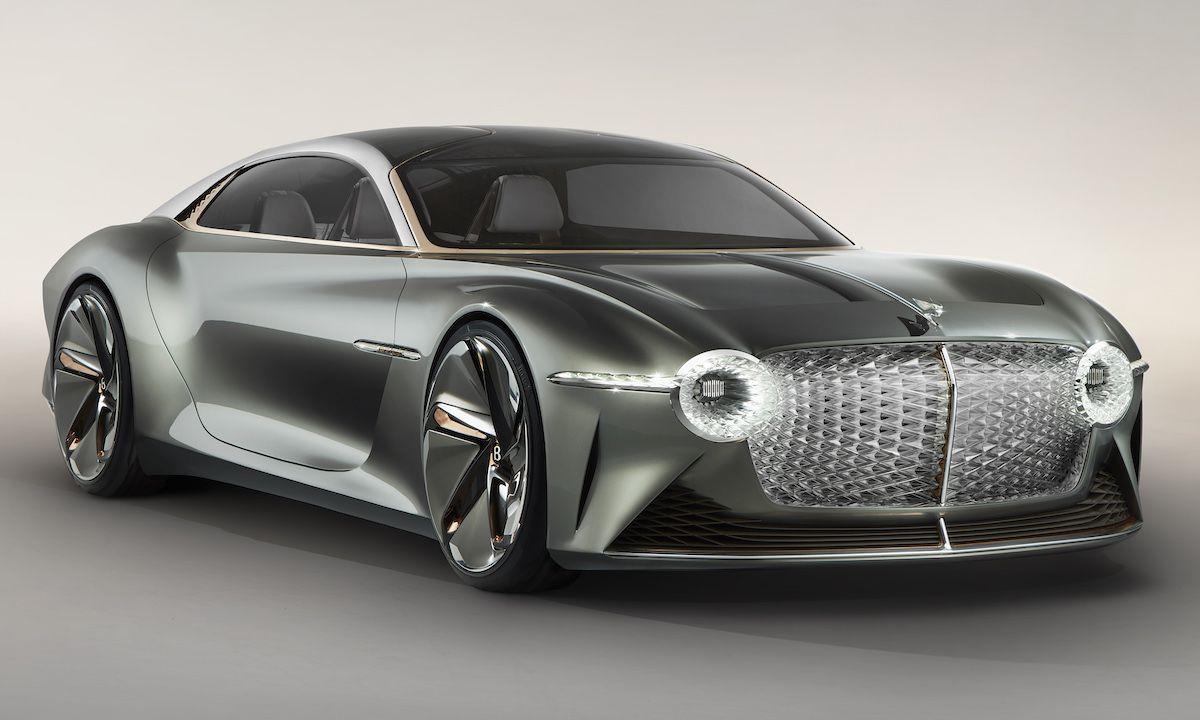 Bentley Celebrates 100th Birthday With Autonomous EXP 100 GT