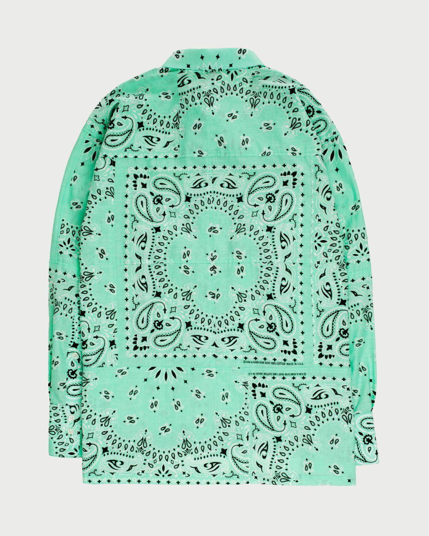 Miyagihidetaka Bandana Shirt Mint - Image 8