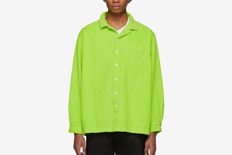 Corduroy Button Down Shirt