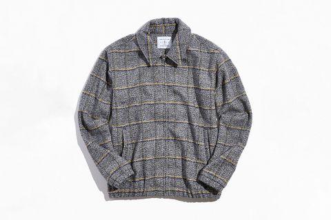 Heavy Tweed Harrington Jacket