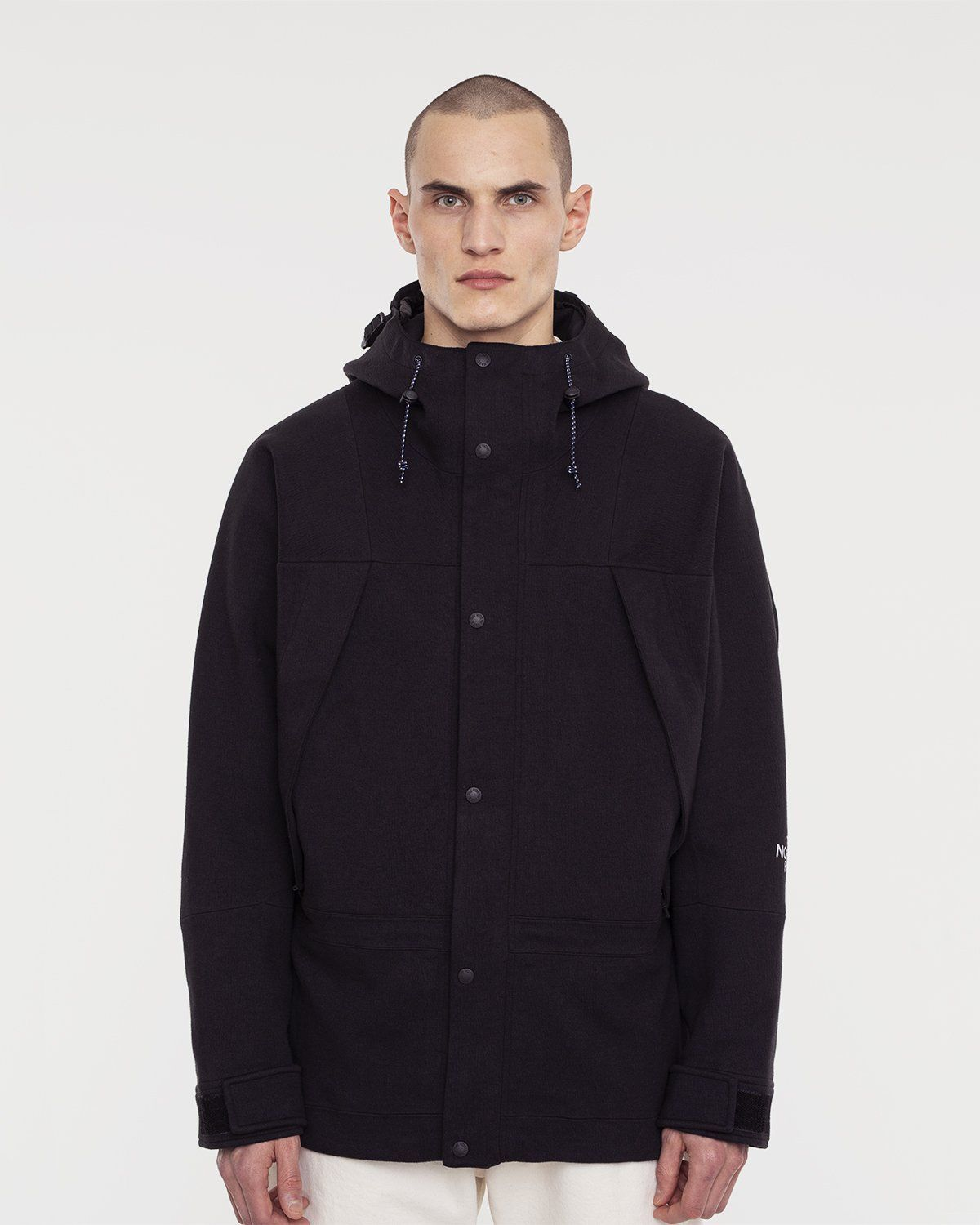 The North Face Black Series — Spacer Knit Mountain Light Jacket Black - Image 2