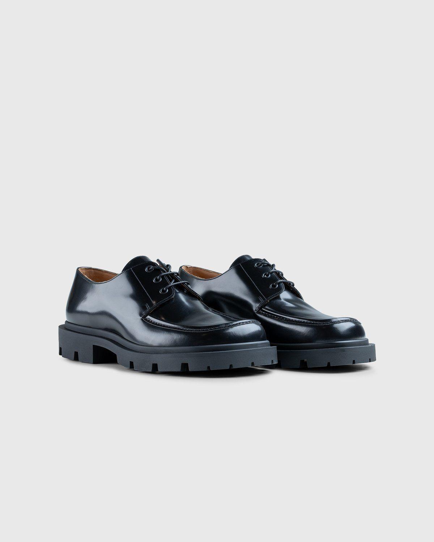 Maison Margiela – Cleated Sole Shoes Black - Image 2