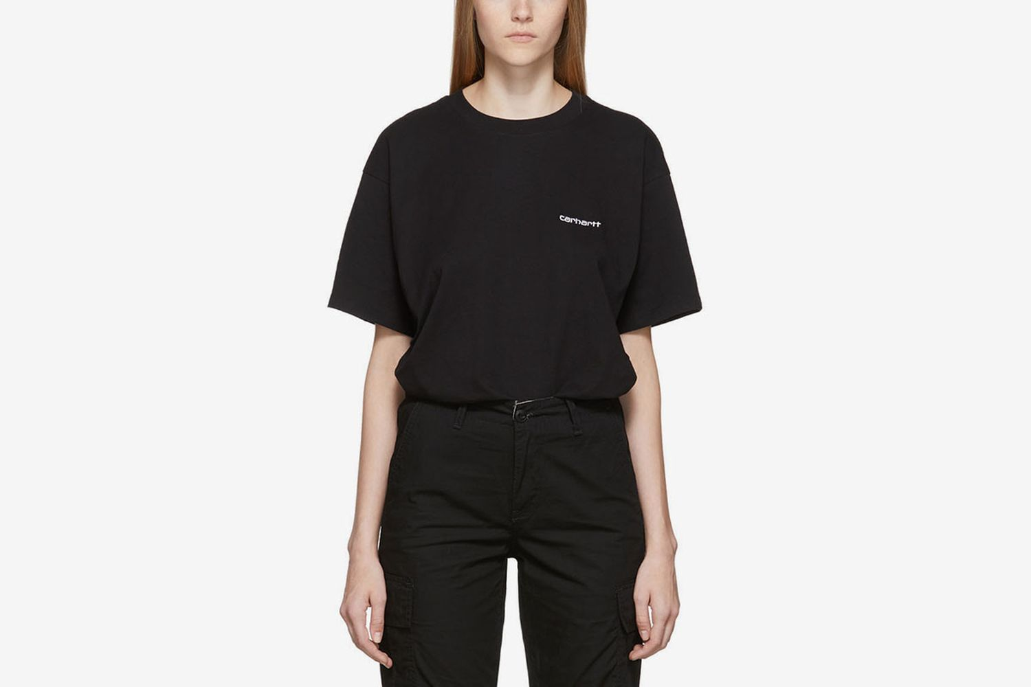 Script Embroidery T-Shirt