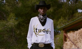Take an Exclusive First Look at Études' Collaboration With '90s Legend Karl Kani