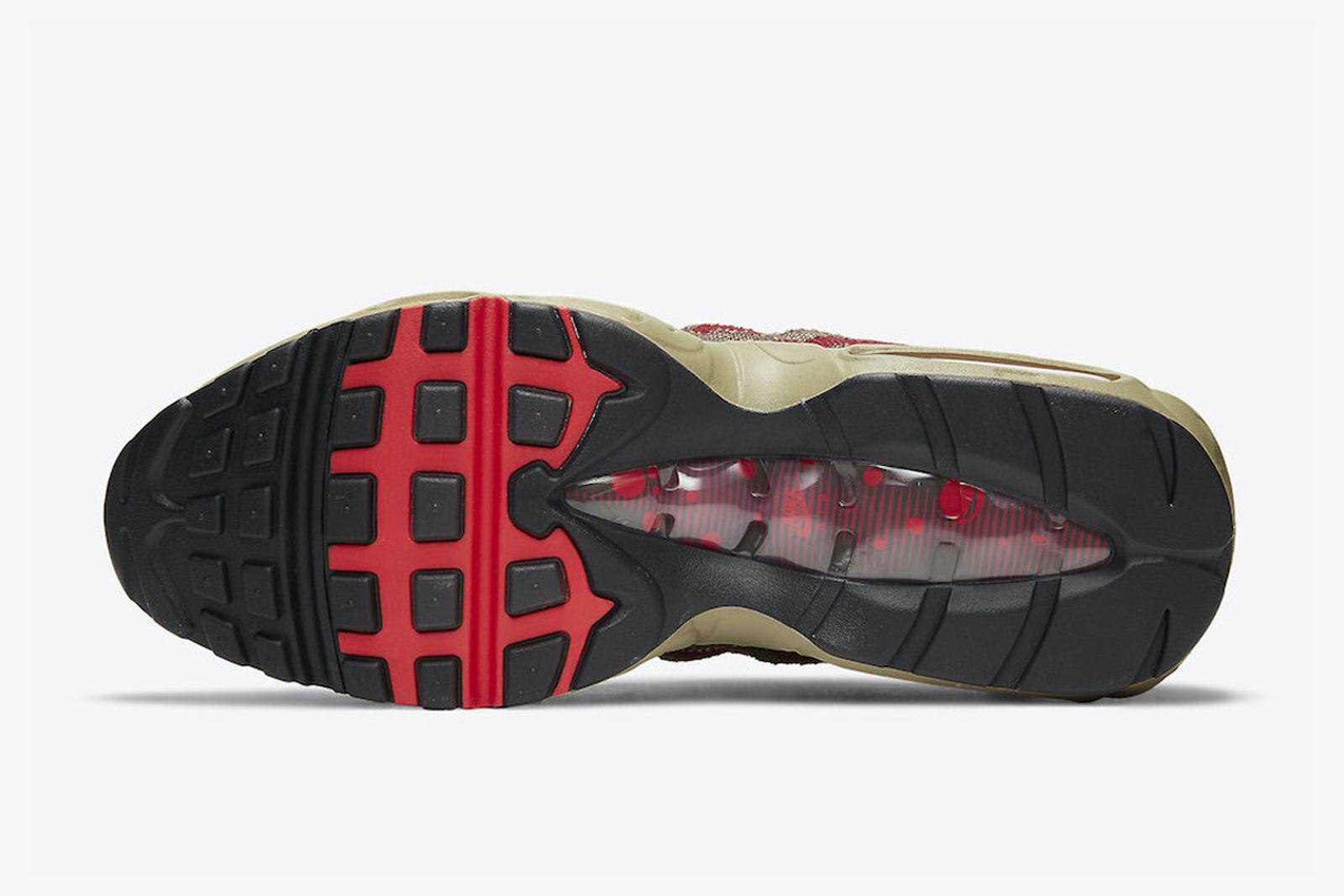 Nike Air Max 95 Freddy Krueger product shots