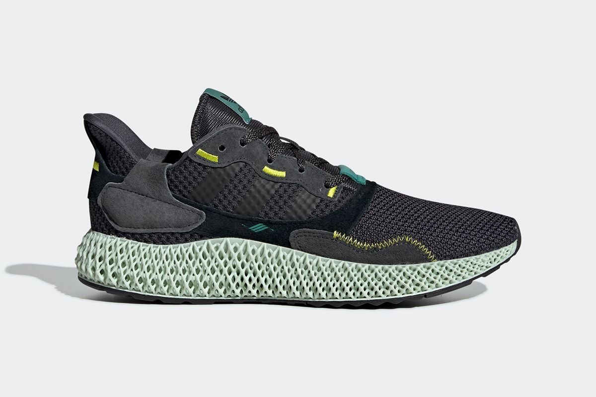 The Latest Futurecraft-Equipped ZX 4000 4D Is adidas  Stealthiest Yet 8956aae28