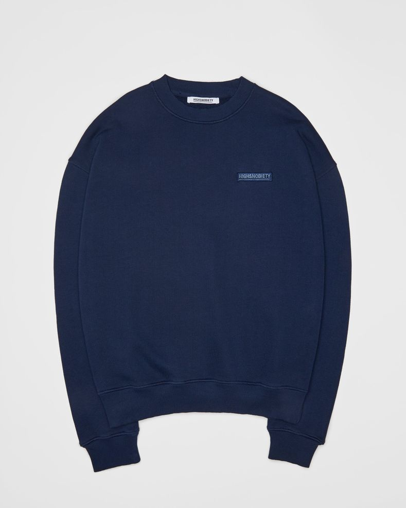 Highsnobiety Staples - Sweatshirt Navy