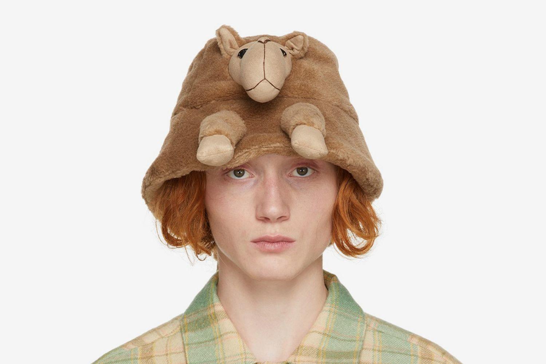 Stuffed Animal Fur Hat