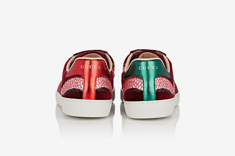 New Ace Velvet Sneakers