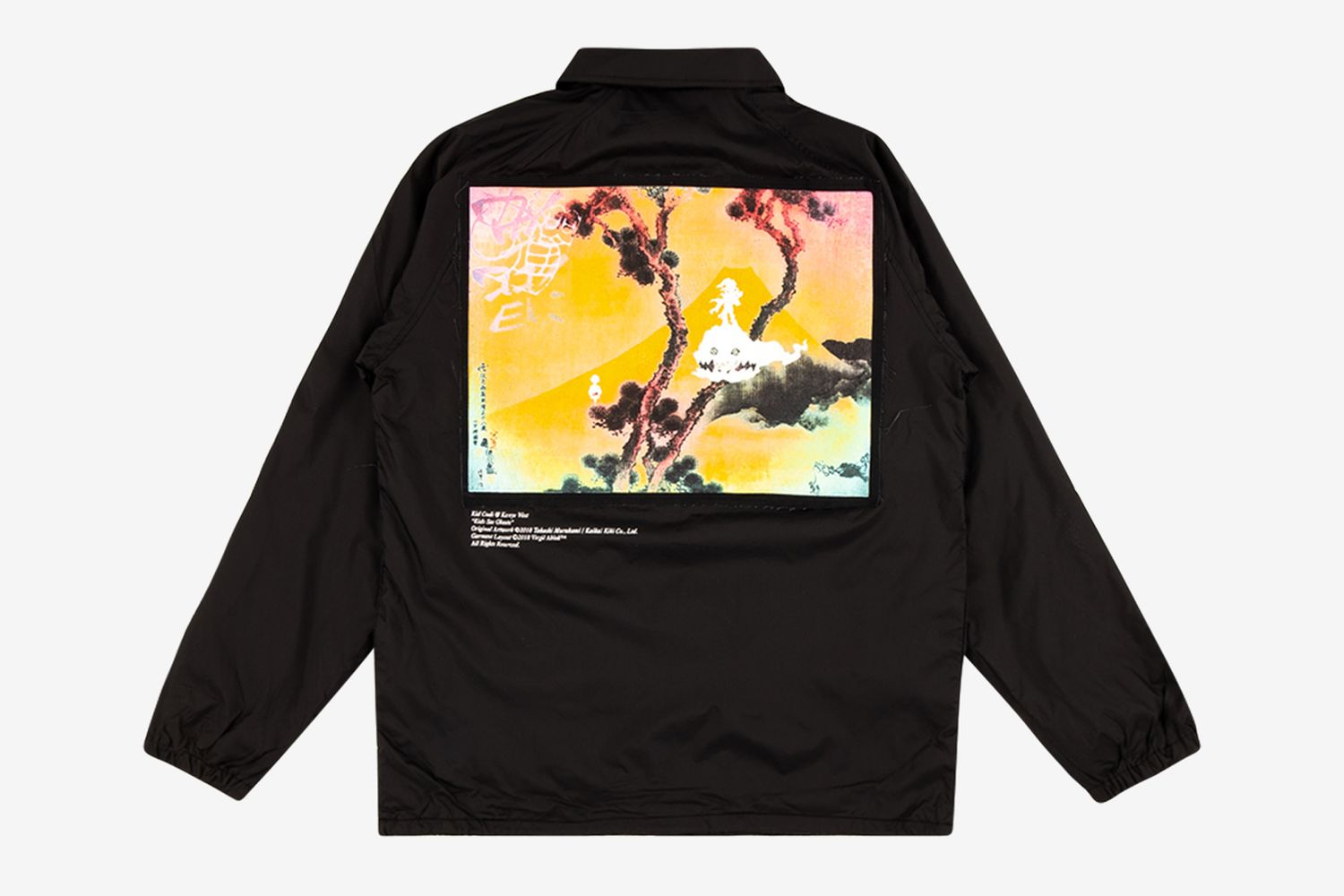 Kids See Ghosts Coaches Jacket